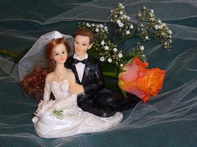 Brautpaar sitzend (#56)